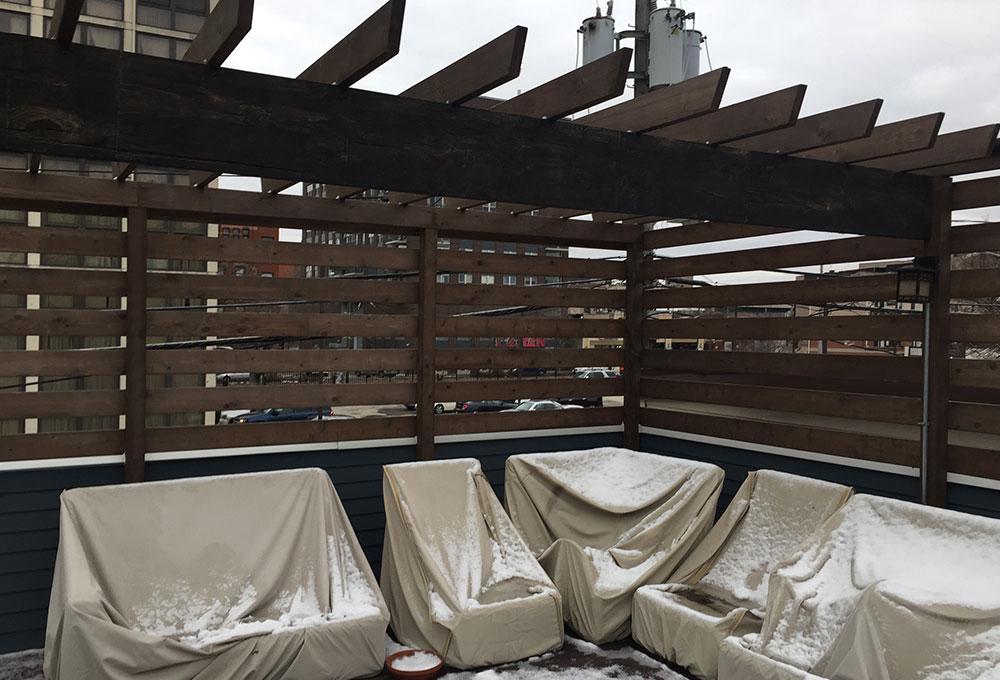 Entertainers Dream Roof Deck Chicago Roof Deck Garden