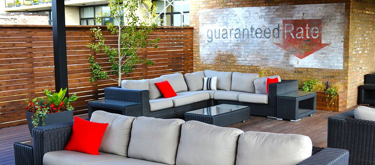 Guaranteed Rate Headquarters Rooftop Chicago Roof Deck