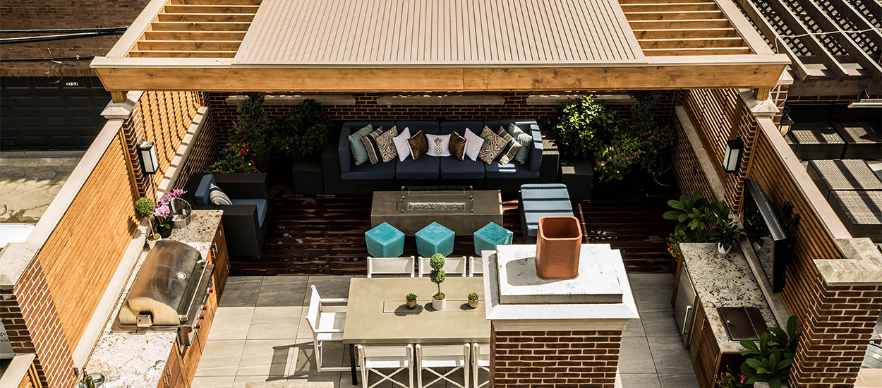 Wrigleyville Wonder Garage Roof Deck Chicago Roof Deck