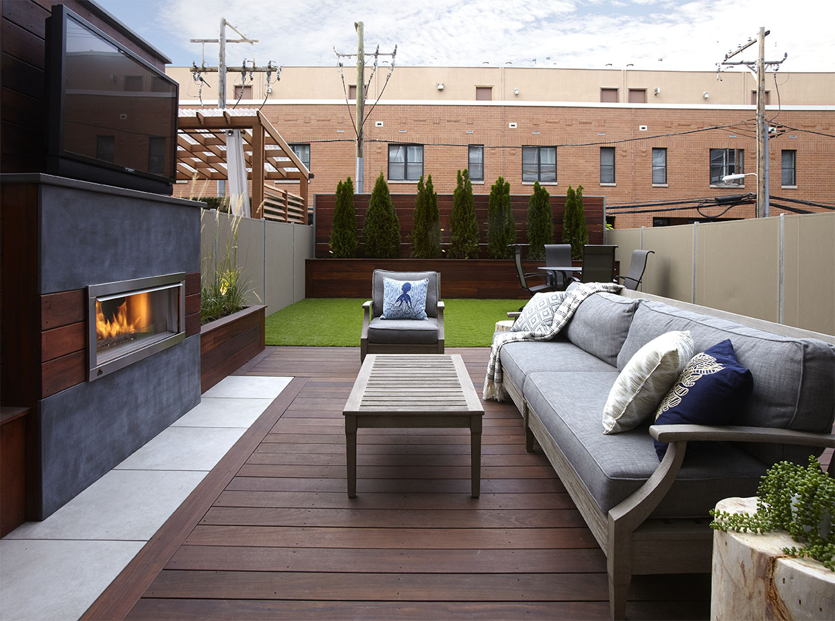 how much does a roof deck cost chicago roof deck garden. Black Bedroom Furniture Sets. Home Design Ideas