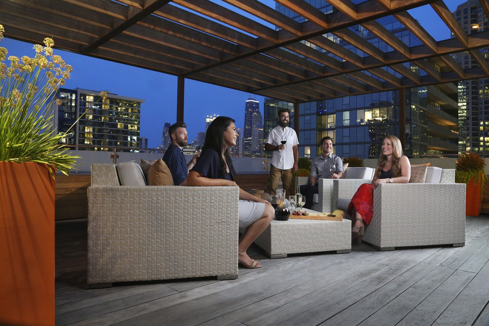 Award Winning Roof Deck Design Build Company Chicago